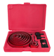16PC HOLE SAW SET 19-127MM