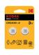 ELECTRONIC BATTERY LITHIUM 3V CR2430 2-PCS