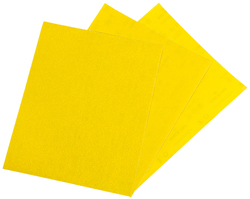 ABRASSIVE SHEETS 230X280MM YELLOW ProMaster