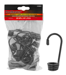 HOOK 20PC FOR 12MM ELASTIC ROPE