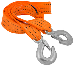 TOW ROPE WITH HOOKS 50MMX4.0M