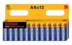 BATTERI ALKALINE G 1,5V LR06/AA-SIZE 12-ST.