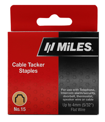 CABLE STAPLE NO.15 4MM 630PCS