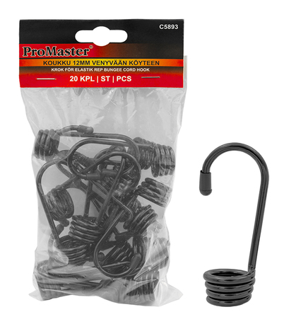 HOOK 20PC FOR 10MM ELASTIC ROPE
