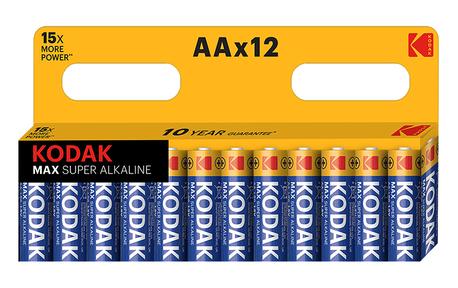 BATTERY ALKALINE G 1,5V LR03/AA-SIZE 12-PCS