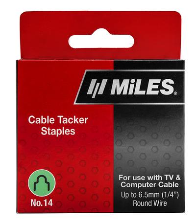 CABLE STAPLE NO.14 6.5MM 630PCS