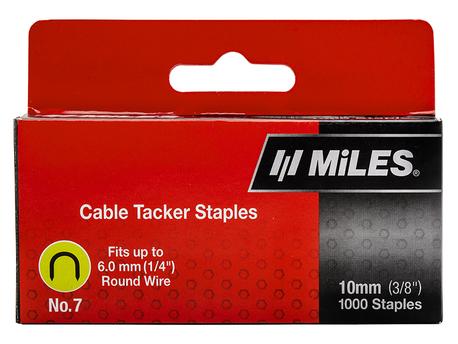 CABLE STAPLE NO.7 10MM 1000PCS