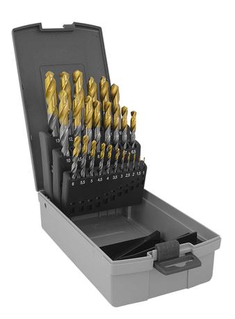 TWIST DRILL SET TIN 25 PC 1-13MM