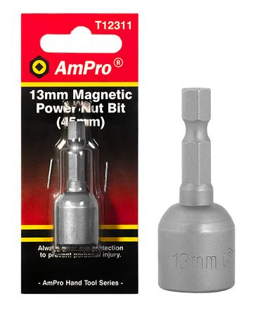 POWER NUT BIT 13 X 45MM CRV/MAG