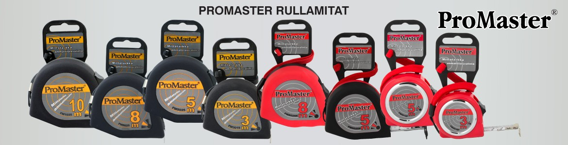 ProMaster tape measures